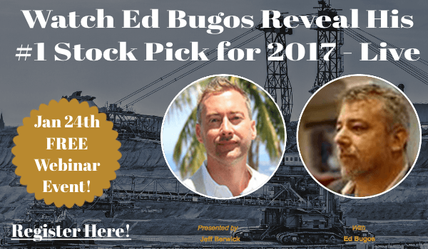 Ed Bugos 2017 Stock Pick of the Year