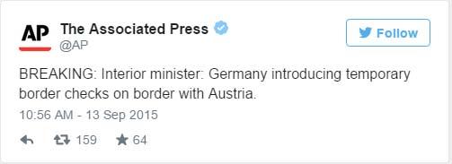 AP Germany Closes Borders To Austria The Dollar Vigilante Jeff Berwick