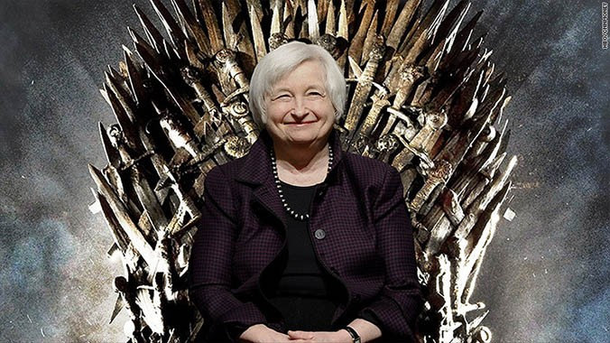 yellen game of thrones The Dollar Vigilante