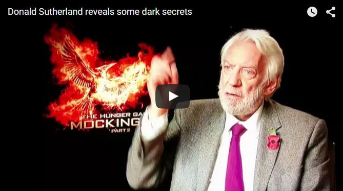 Donald Sutherland Hunger Games Allegory for US - The Dollar Vigilante