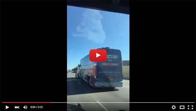 Bernie Sanders Bus Breaks Down - The Dollar Vigilante 2