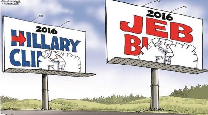Clinton Bush - The Death of Politics - The Dollar Vigilante