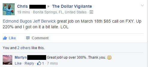 Facebook - The Dollar Vigilante