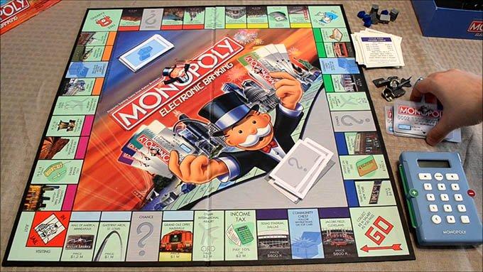 Monopoly Electronic Banking - The Dollar Vigilante