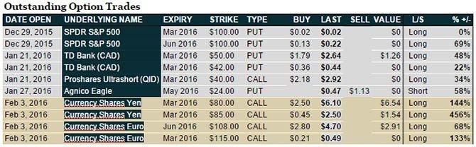 TDV Senior Analyst Ed Bugos Recent Swing Trades - The Dollar Vigilante