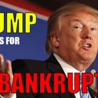 Trump Calls for US Bankruptcy