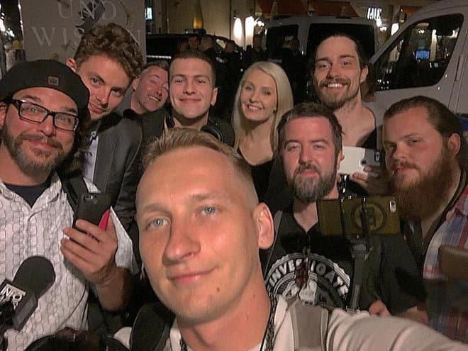 Oscars style selfie at Bilderberg with Alternative Media - The Dollar Vigilante