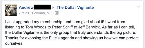 Testimonials 7 - The Dollar Vigilante