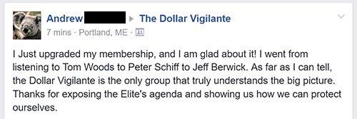 Testimonials 7 - The Dollar Vigilante