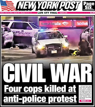 Civil War - The New York Post - The Dollar Vigilante