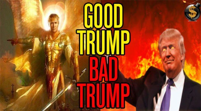 Image result for trump good and bad