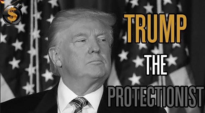 Risultati immagini per trump protectionism