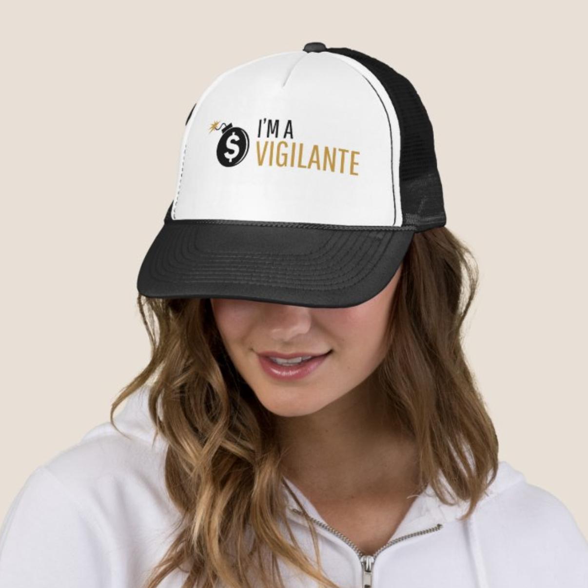 im a vigilante hat